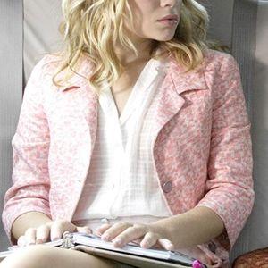 NY Minute Pink Brocade Style Jacket